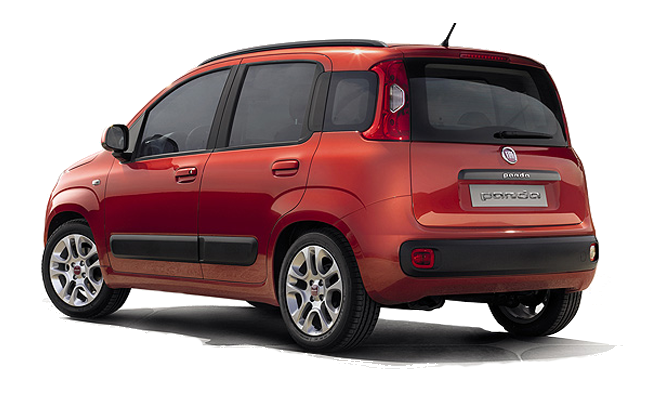 New Fiat Panda - Rear / Side View