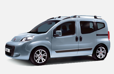 Fiat Qubo - Left Side View